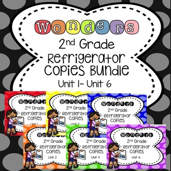 Wonders 2nd grade units 1 6 bundle refrigerator copy by co teaching wonders 2nd grade units 1 6 bundle refrigerator copy ibookread Read Online