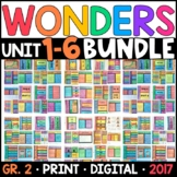 Wonders 2nd Grade WHOLE-YEAR BUNDLE Units 1-6 (Aligned Interactive Supplements)