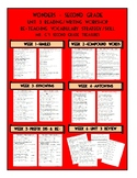 Unit 3 Wonders 2nd Grade Weekly Skill Re-Teaching Pages