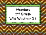 McGraw Hill Wonders 2nd Grade Wild Weather 3.4 {7 Literacy Activities}