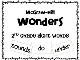 Wonders 2nd grade Sight Words