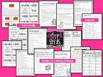 Wonders 2nd grade Unit 6 Week 3 Activities