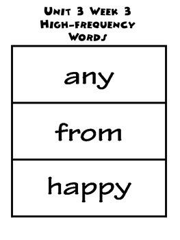 Wonders 3.3 Word Bundle