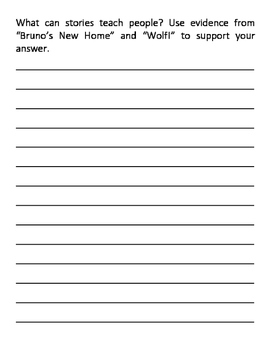 2014 Wonders 3rd Grade Essential ? Writing Prompts (all 6 units - 60 pages)