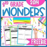 Wonders 3rd Grade FREEBIE