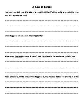 Wonders 3rd Grade Leveled Reader Questions BUNDLE (all 6 units - 180 pages)