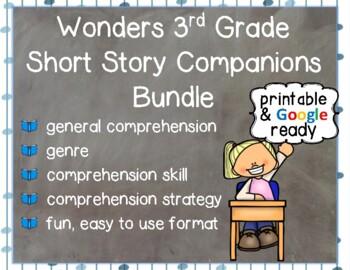 Wonders 3rd Grade: Short Story Booklets Booklets