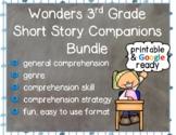 Wonders 3rd Grade: Short Story Booklets - Printable & Digital