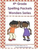 Wonders 3rd Grade Spelling Units 1-6 Weekly Spelling Packets