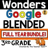 Wonders 3rd Grade Unit 1 - 6    Printable & Google Bundle