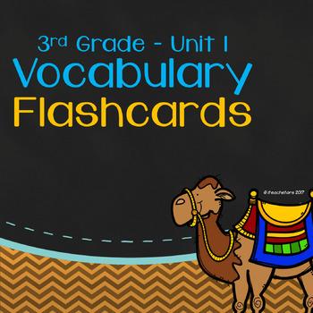 Wonders 3rd Grade Unit 1 Vocabulary Flashcards