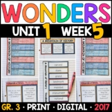 Wonders 3rd Grade, Unit 1 Week 5: A Mountain of History Interactive Supplements