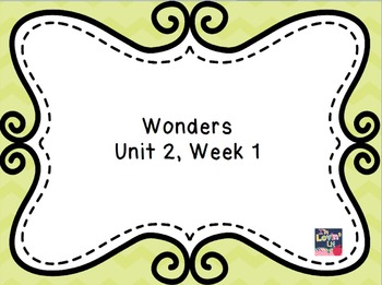 Wonders 3rd Grade Unit 2 Week 1 Flipchart