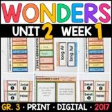 Wonders 3rd Grade, Unit 2 Week 1: Roadrunner's Dance with