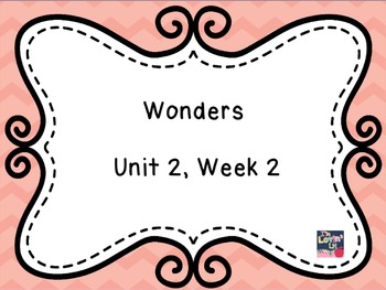 Wonders 3rd Grade Unit 2 Week 2 Flipchart