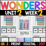Wonders 3rd Grade, Unit 2 Week 2: The Castle on Hester Street Supplements