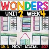 Wonders 3rd Grade, Unit 2 Week 4: Whooping Cranes in Dange