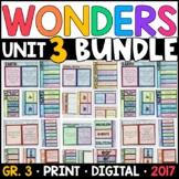 Wonders 3rd Grade Unit 3 BUNDLE: Interactive Supplements w