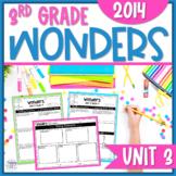 Wonders 3rd Grade Unit 3   Comprehension Questions, Graphi