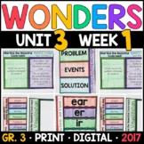 Wonders 3rd Grade, Unit 3 Week 1: Martina Beautiful Cockro