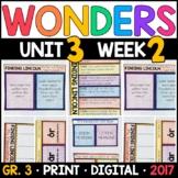 Wonders 3rd Grade, Unit 3 Week 2: Finding Lincoln Interact