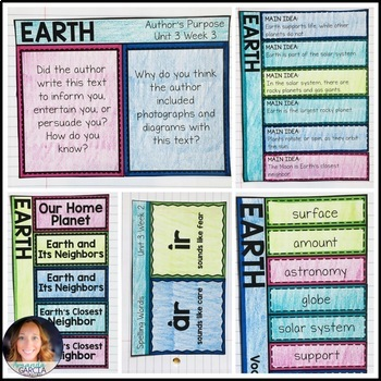 Wonders 3rd Grade, Unit 3 Week 3: Earth Interactive Supplements