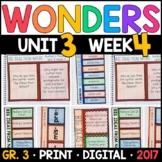 Wonders 3rd Grade, Unit 3 Week 4: Big Ideas from Nature wi