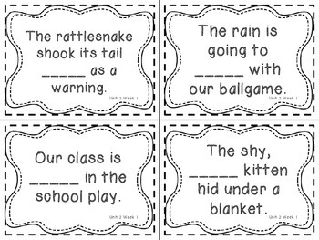 Wonders Grade 3: Unit 2 Vocabulary Games