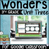 Wonders 3rd Grade Unit 3 - Digital