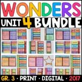 Wonders 3rd Grade Unit 4 BUNDLE: Interactive Supplements w