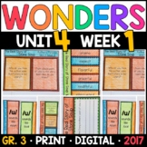 Wonders 3rd Grade, Unit 4 Week 1: The Real Story of Stone Soup Supplements