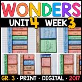 Wonders 3rd Grade, Unit 4 Week 3: Amazing Wildlife of the Mojave Supplements