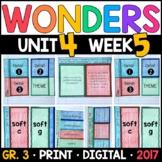 Wonders 3rd Grade, Unit 4 Week 5: The Winningest Woman Supplements