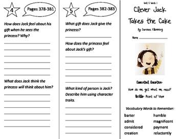Wonders 3rd Grade Unit 5 Trifolds Bundle!
