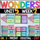 Wonders 3rd Grade, Unit 5 Week 2: Bravo, Tavo! Interactive Supplements