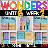 Wonders 3rd Grade, Unit 6 Week 2: Nora's Ark Interactive Supplements