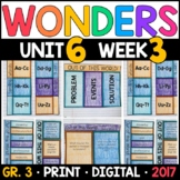 Wonders 3rd Grade, Unit 6 Week 3: Out of This World! Interactive Supplements