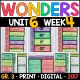 Wonders 3rd Grade, Unit 6 Week 4: Alligators and Crocodiles Supplements