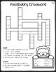 Wonders 3rd Grade Vocabulary Crossword Puzzles Unit 1