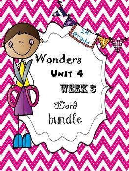 Wonders 4.3 Word Bundle