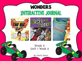 Wonders 4th Grade Interactive Journal Unit 1-Week-4