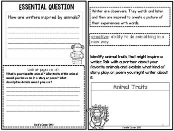 Wonders 4th Grade Interactive Journal Unit 2-Week-5