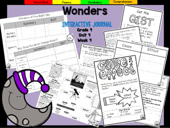 Wonders 4th Grade Interactive Journal Unit 4-Week-4