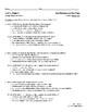 Wonders 4th Grade Literature Anthology Comprehension Checks- Unit 4