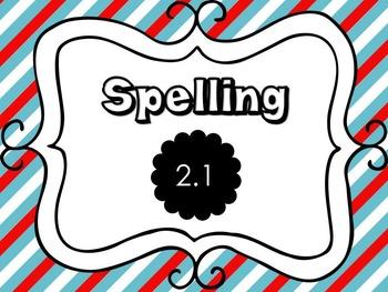 Wonders 4th Grade Spelling PowerPoint Unit 2