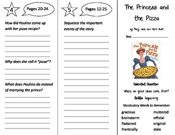 Wonders 4th Grade Trifolds Bundle - Whole Year