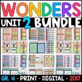 Wonders 4th Grade Unit 2 BUNDLE: Interactive Notebook Page