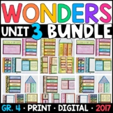 Wonders 4th Grade Unit 3 BUNDLE: Interactive Notebook Page