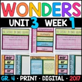 Wonders 4th Grade, Unit 3 Week 1: The Cricket in Times Squ