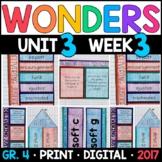 Wonders 4th Grade, Unit 3 Week 3: Delivering Justice Interactive Supplements